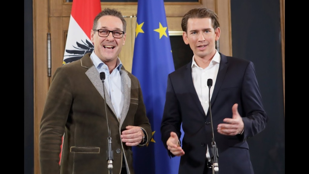 Sebastian Kurz und HC Strache