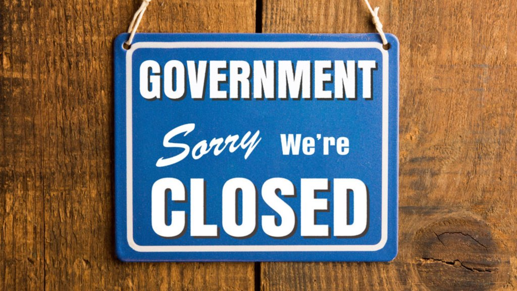 Govenment is closed Foto by rubikon.news